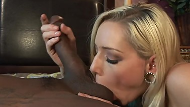 RYLIE RICHMAN - BLONDE WIFE FUCKS HUSBANDS HUGE BLACK BOOKIE TO PAY GAMBLE