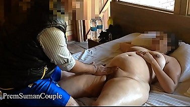 Desi wife Suman getting nude massage hubby filming [Part 8]