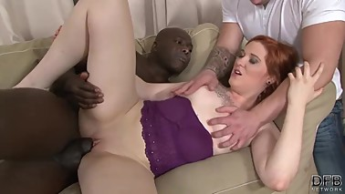 Cuckold asks black man to fuck his wife anal and pussy hardcore and deep