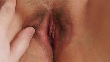 Wife with magic wand. Double orgasm!