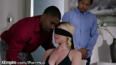 XEmpire Husband Gives Thick Blonde Wife A Gift! Another Mana€™s BBC!