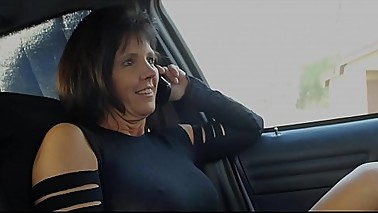 Hotwife MILF Gangbanged by Movers