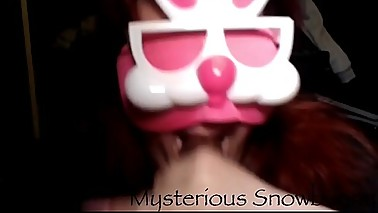 Mysterious Easter Bunny Oral Bbc Blowjob And Facial