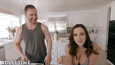 ADULT TIME You Get Cucked by Your Wife & Step Brother POV