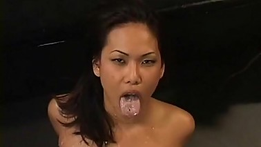 Asian cuckold wife like jizz