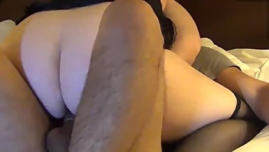 Real Amateur Wife Shared with Black guy and a Young Stud Cums 3 times