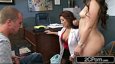 Show The Doctor How You Suck Cock - Lola Foxx, Akira Lane