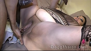 AssFucked Swinger Wife Facialized by Black Boyfriend