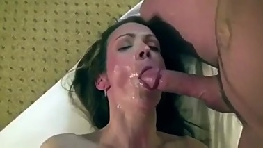Hotwife double team for her birthday