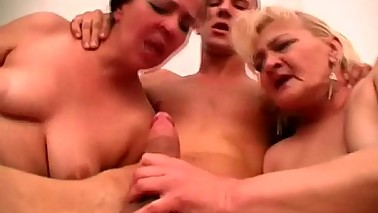 mature threesome video