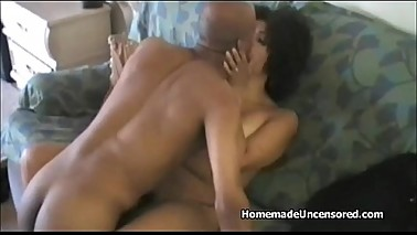 Big black dick guy fuck his wife in homemade video