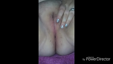 Horny wife playing with toys gets anal