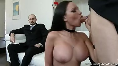 Exotic Swinger Wife Fucks Another Man
