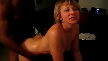 Hubby films horny Wife addicted to BBC (interracial cuckold)