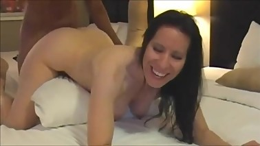 Filming Cougar Wife Getting Fucked Deep by BBC in Hotel Room