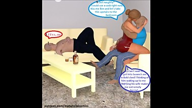 3D Comic: Cuckold Wife Cheats On Husband With His Best Friend