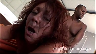 Mature pierced milf gets fucked by Big Black Dick in Hot Mom Porn Video