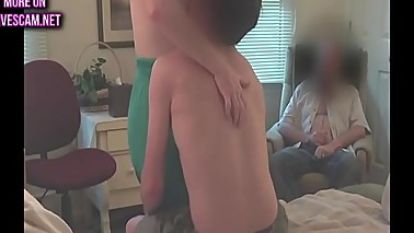 25yo fucks 60yo hotwife and cums in second cuckold watches