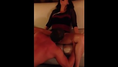 Sucking Cuckold's Wife