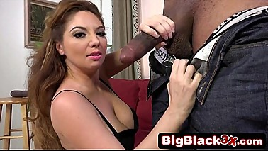 Sexy Slutty Kiki Daire Sucking Black Monster Cock