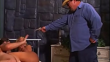 Sheriff'_s big tits wife got caught right after hard ass to mouth action