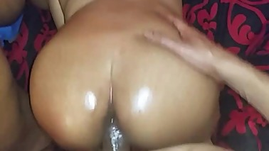 Wifey & her Girlfriend sucking my Cock before I fck them Both