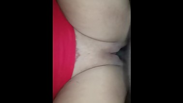 My neighbor cheating wife lets me record her fucking raw....part 2